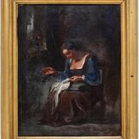 Pasqualino rossi, donna che cuce - Sailko - Ravenna (RA)