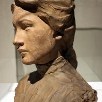 Domenico beccarini, testa di donna, 1903 - Sailko - Ravenna (RA)
