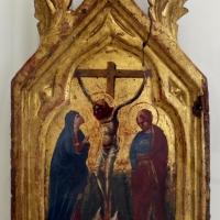 Artista veneto-marchigiano, crocifisione coi dolenti, 1375-1400 ca - Sailko - Ravenna (RA)