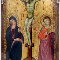 Maestro di panzano, crocifissione coi dolenti, 1380-1400 ca - Sailko - Ravenna (RA)