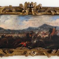 Ignoto, battaglia tra cavalieri turchi e cristiani, 1650-1700 ca. 01 - Sailko - Ravenna (RA)
