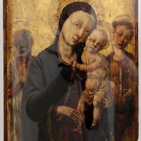 Matteo di giovanni, madonna col bambino tra i ss. girolamo e barbara - Sailko - Ravenna (RA)