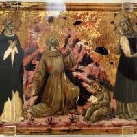 Guglielmo veneziano, san francesco stigmatizzato tra i ss. domenico e marina, 1350-1400 ca. (veneto-marche) - Sailko - Ravenna (RA)