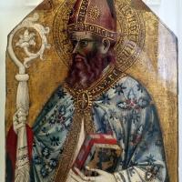 Maestro della madonna lanz, sant'agostino, 1400-50 ca. (romagna) - Sailko - Ravenna (RA)