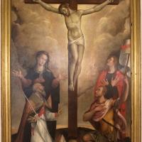 Francesco longhi, crocifissione coi dolenti, s. apolinnare e s. vitale, 01 - Sailko - Ravenna (RA)
