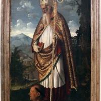 Filippo da verona, san benedetto e un devoto, 1510-15 ca. 01 - Sailko - Ravenna (RA)