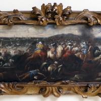 Ignoto, battaglia tra cavalieri turchi e cristiani, 1650-1700 ca. 03 - Sailko - Ravenna (RA)