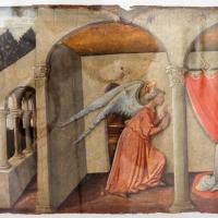 Pietro di nicola baroni, annunciazione e peccato originale, 1440-80 ca. (orvieto) - Sailko - Ravenna (RA)