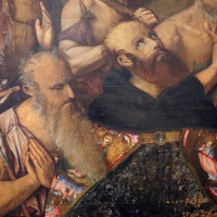 Francesco zaganelli da cotignola, adorazione dei pastori coi ss. bonaventura e girolamo, 1520-30 ca. 06 - Sailko - Ravenna (RA)