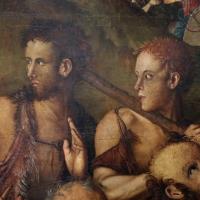 Francesco zaganelli da cotignola, adorazione dei pastori coi ss. bonaventura e girolamo, 1520-30 ca. 04 - Sailko - Ravenna (RA)