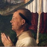 Filippo da verona, san benedetto e un devoto, 1510-15 ca. 02 - Sailko - Ravenna (RA)