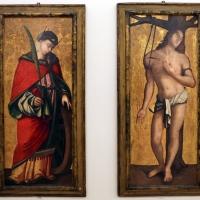 Francesco zaganelli da cotignola, santa caterina e san sebastiano, 01 - Sailko - Ravenna (RA)