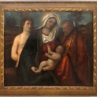 Pietro degli ingannati, sacra famiglia con san sebastiano, 1525-50 ca. (ve) - Sailko - Ravenna (RA)