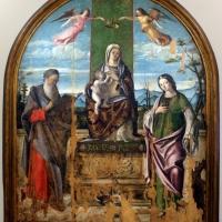Niccolò rondinelli, madonna in trono tra i ss. girolamo e caterina d'alessandria, 01 - Sailko - Ravenna (RA)