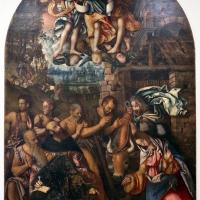 Francesco zaganelli da cotignola, adorazione dei pastori coi ss. bonaventura e girolamo, 1520-30 ca. 01 - Sailko - Ravenna (RA)
