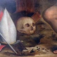 Francesco longhi, crocifissione coi dolenti, s. apolinnare e s. vitale, 03 teschio - Sailko - Ravenna (RA)