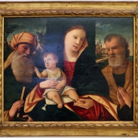 Francesco da santacroce, madonna col bambino tra i ss. simone e giuseppe, 1500-50 ca - Sailko - Ravenna (RA)