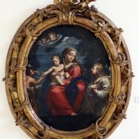 Gian gioseffo da sole (ambito), madonna col bambino, san giovannino e un angelo - Sailko - Ravenna (RA)