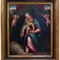 Barbara longhi, madonna col bambino sotto un baldacchino retto da due angeli - Sailko - Ravenna (RA)