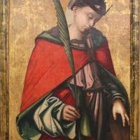 Francesco zaganelli da cotignola, santa caterina e san sebastiano, 02 - Sailko - Ravenna (RA)
