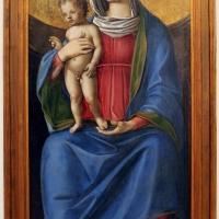Niccolò rondinelli, madonna col bambino tra i ss. alberto e sebastiano, 1470-1510 ca. 03 - Sailko - Ravenna (RA)
