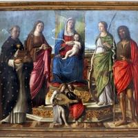 Niccolò rondinelli, madonna col bambino in trono fra santi, 1470-1510 ca. 01 - Sailko - Ravenna (RA)