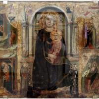 Maestro del coro scrovegni, madonna col bambino, santi e quattro storie di cristo, 1300-50 ca - Sailko - Ravenna (RA)