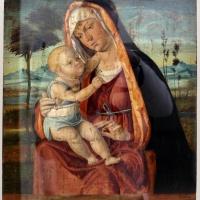 Seguace di cima da conegliano, madonna col bambino, xv-xvi secolo - Sailko - Ravenna (RA)