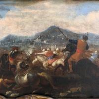 Ignoto, battaglia tra cavalieri turchi e cristiani, 1650-1700 ca. 02 - Sailko - Ravenna (RA)