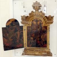 Giorgio klontzas, altarolo con storie della passione, 1580-1600 ca - Sailko - Ravenna (RA)
