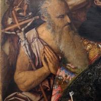 Francesco zaganelli da cotignola, adorazione dei pastori coi ss. bonaventura e girolamo, 1520-30 ca. 05 - Sailko - Ravenna (RA)