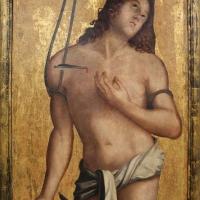 Francesco zaganelli da cotignola, santa caterina e san sebastiano, 03 - Sailko - Ravenna (RA)