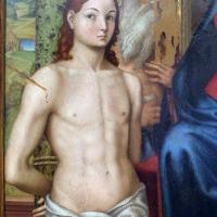 Luca longhi, sposalizio mistico di s. caterina tra i ss. sebastiano, girolamo, rocco e benedetto 02 - Sailko - Ravenna (RA)