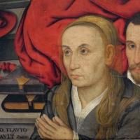 Giovan battista bertucci il giovane, apparizione della vergine a san girolamo e ritratti di due Cavina, 03 - Sailko - Ravenna (RA)
