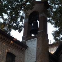 Campana con iscrizione in onore di Dante - Cristina Cumbo - Ravenna (RA)