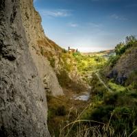 La Torre dell'Orologio vista dalla cava del Monticino - Massimo Saviotti - Brisighella (RA)