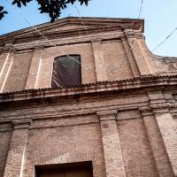 La facciata e il cielo - Laurina 79 - Massa Lombarda (RA)