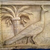 SanVitale sarcofago detalle pavo real palmera - Hispalois - Ravenna (RA)