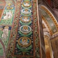 San Vitale - particolare volta con medaglioni musivi di santi - LadyBathory1974 - Ravenna (RA)