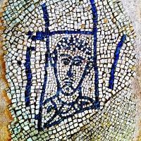 Chiesa di San Salvatore ad Chalchis cosiddetto Palazzo di Teodorico dettaglio pavimento musivo5 - Opi1010 - Ravenna (RA)