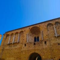 Chiesa di San Salvatore ad Chalchis cosiddetto Palazzo di Teodorico facciata e Sant'Apollinare Nuovo - Opi1010 - Ravenna (RA)