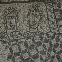 Palazzo di Teodorico - Mosaico piano superiore 8 - Walter manni - Ravenna (RA)