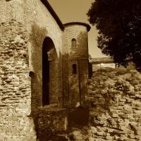 Chiesa di San Salvatore ad Chalchis cosiddetto Palazzo di Teodorico seppia - Opi1010 - Ravenna (RA)