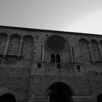 Chiesa di San Salvatore ad Chalchis cosiddetto Palazzo di Teodorico dettaglio facciata - Opi1010 - Ravenna (RA)