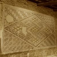 Chiesa di San Salvatore ad Chalchis cosiddetto Palazzo di Teodorico pavimento musivo appeso - Opi1010 - Ravenna (RA)