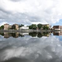 Vista con nuvole - Domenico Bressan - Ravenna (RA)