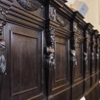 Panche di sinistra nel refettorio - Domenico Bressan - Ravenna (RA)