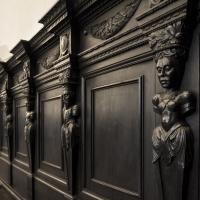 Panche di destra nel refettorio - Domenico Bressan - Ravenna (RA)