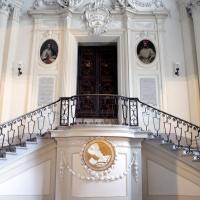 Biblioteca Classense - piano superiore scala - Walter manni - Ravenna (RA)