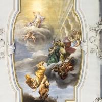 Affresco soffitto aula magna - Domenico Bressan - Ravenna (RA)